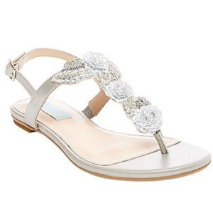 New Betsey Johnson Camil Sandal